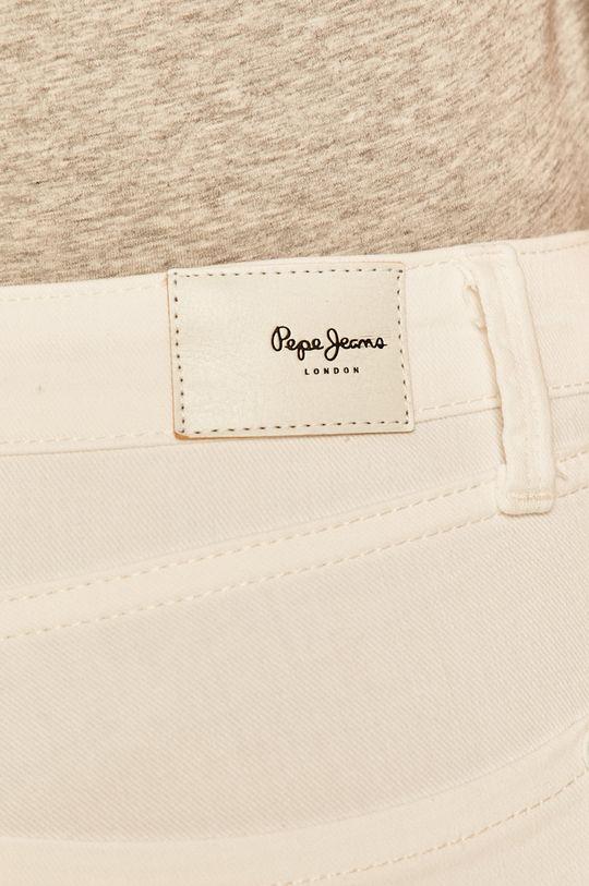 bílá Pepe Jeans - Džíny Regent