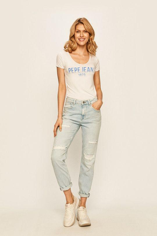 Pepe Jeans - Jeansy Mary niebieski