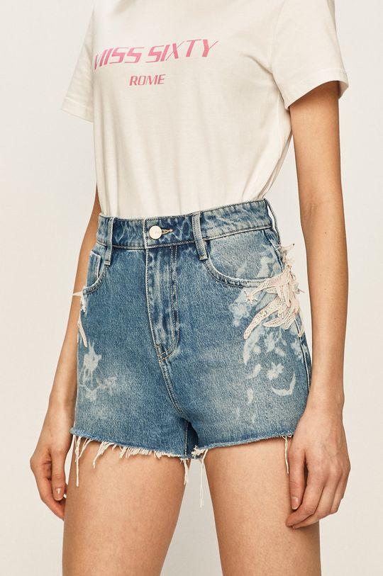 albastru Miss Sixty - Pantaloni scurti jeans De femei