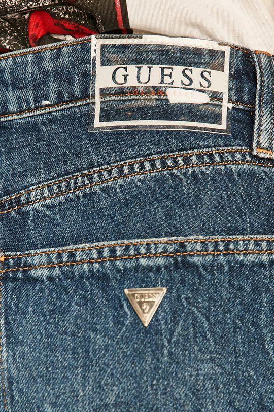 modrá Guess Jeans - Rifle Jaqueline