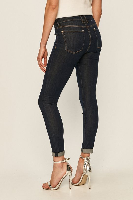 Guess Jeans - Jeansi Annette  Captuseala: 30% Bumbac, 70% Poliester  Materialul de baza: 30% Bumbac, 2% Elastan, 63% Lyocell, 5% Poliester