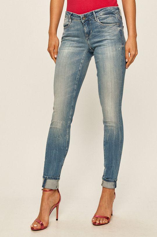 modrá Guess Jeans - Rifle Jegging Dámsky
