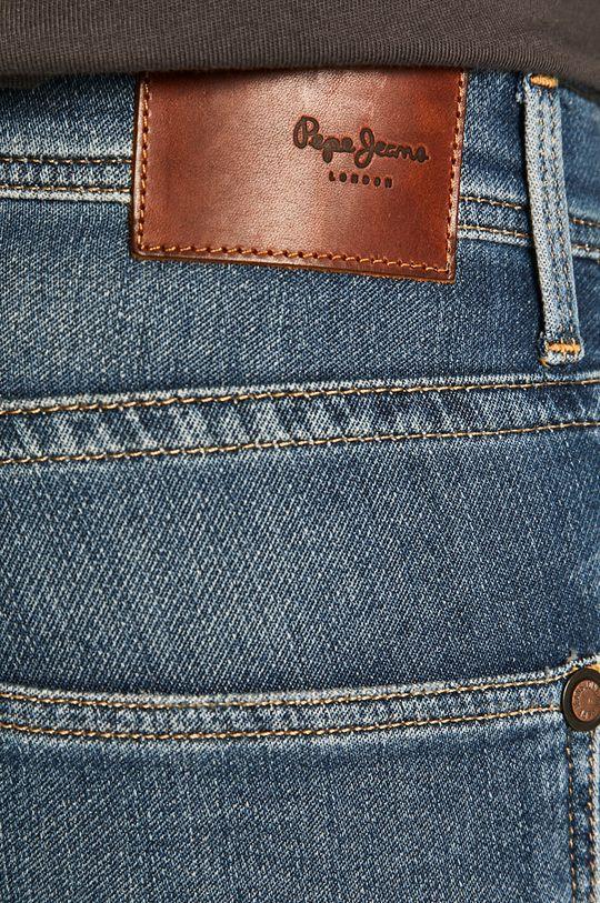 niebieski Pepe Jeans - Jeansy Track