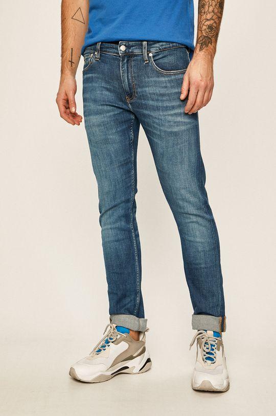 tmavomodrá Calvin Klein Jeans - Rifle Ckj 026 Pánsky