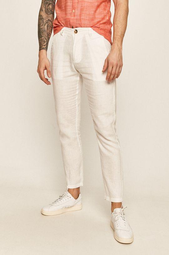 biela Guess Jeans - Nohavice Pánsky