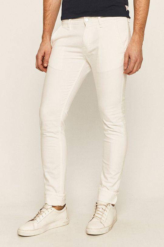 biela Guess Jeans - Rifle Adam Pánsky