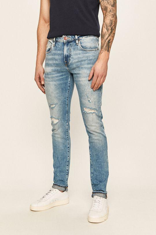 albastru Guess Jeans - Jeansi Chris De bărbați