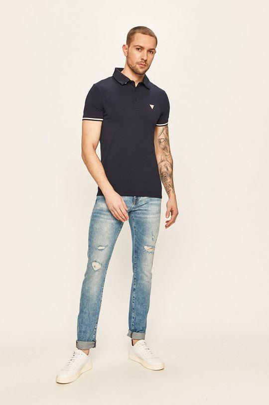 Guess Jeans - Jeansi Chris albastru
