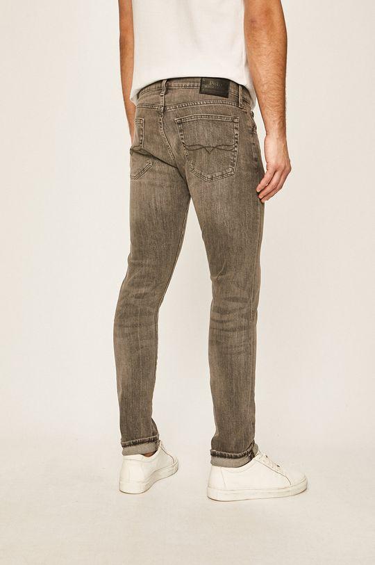 Polo Ralph Lauren - Jeansi SSULLIVAN  Materialul de baza: 85% Bumbac, 2% Elastan, 13% Poliester  Insertiile: 100% Piele naturala