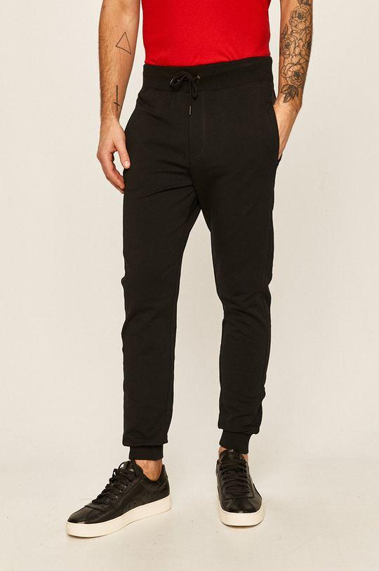 čierna Guess Jeans - Nohavice Pánsky