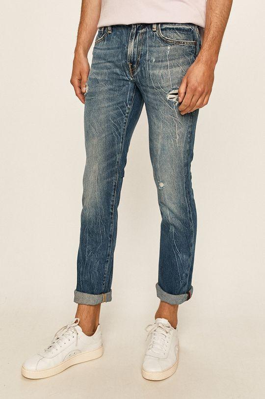 niebieski Guess Jeans - Jeansy Angels Męski