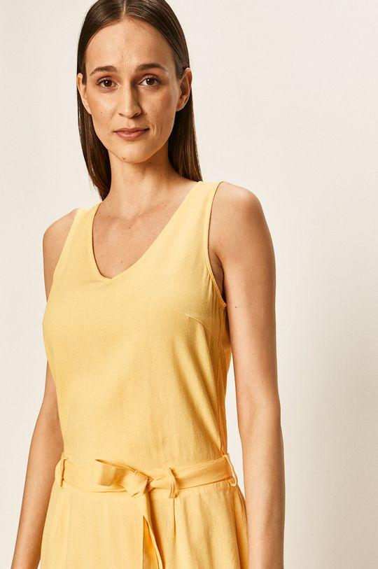 żółty Vero Moda - Kombinezon