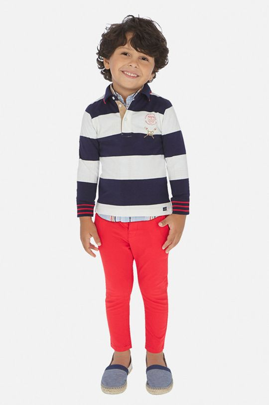 яскраво-червоний Mayoral - Дитячі штани 92-134 cm Для хлопчиків