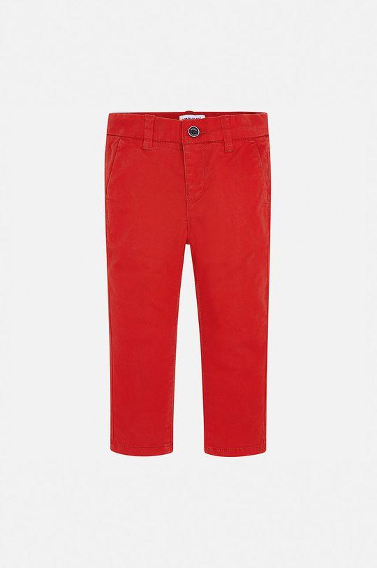 Mayoral - Pantaloni copii 92-134 cm rosu ascutit