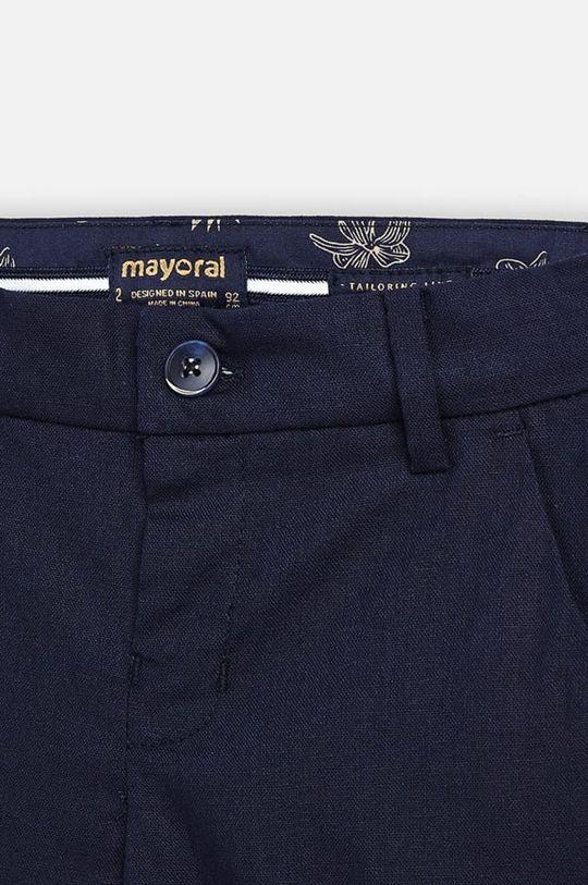 Mayoral - Detské nohavice 92-134 cm  82% Bavlna, 14% Ľan, 4% Polyester