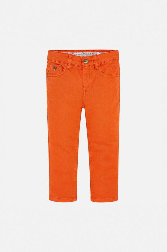 Mayoral - Дитячі штани 92-134 cm помаранчевий