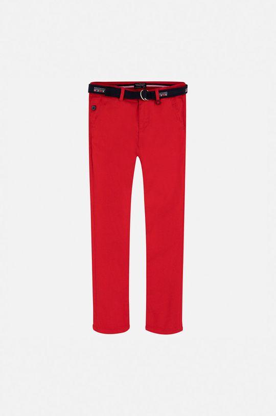 Mayoral - Дитячі штани 128-172 cm червоний