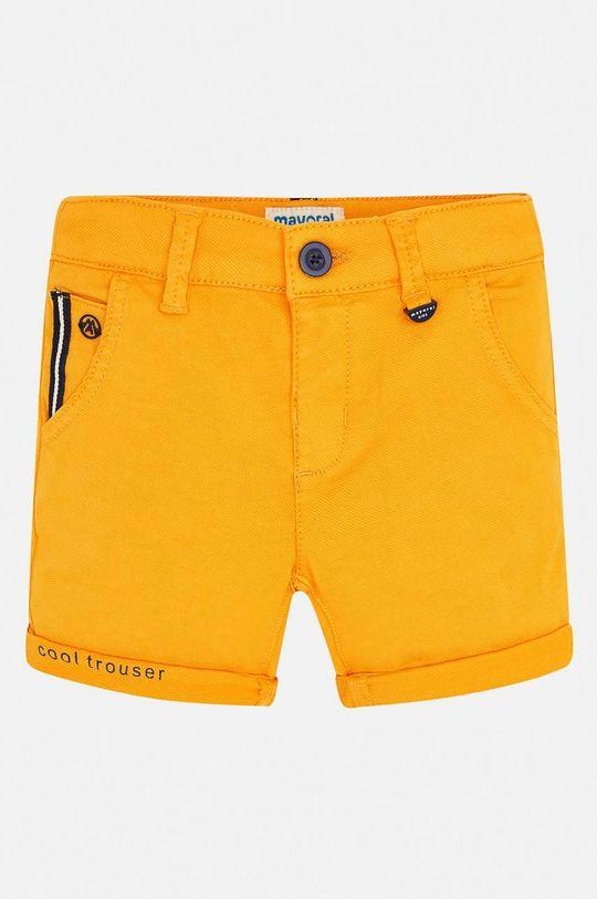Mayoral - Дитячі штани 92-134 cm бурштиновий