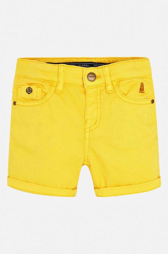 Mayoral - Дитячі штани 92-134 cm жовтий
