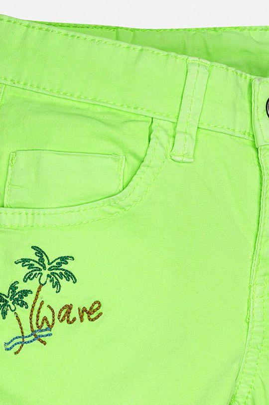 žlto-zelená Mayoral - Detské krátke nohavice 92-134 cm