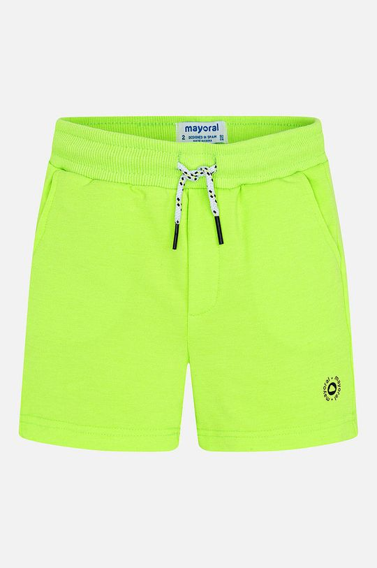 Mayoral - Detské krátke nohavice 92-134 cm žlto-zelená