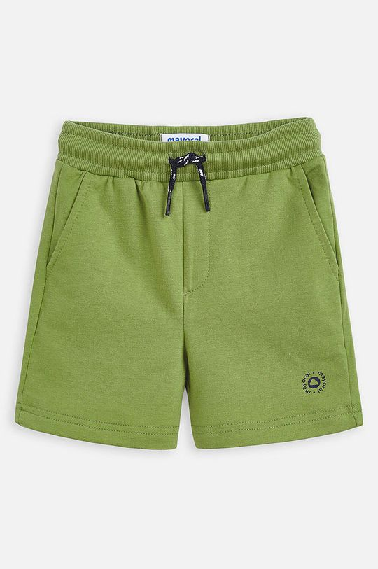 hnedo zelená Mayoral - Detské krátke nohavice 92-134 cm Chlapčenský