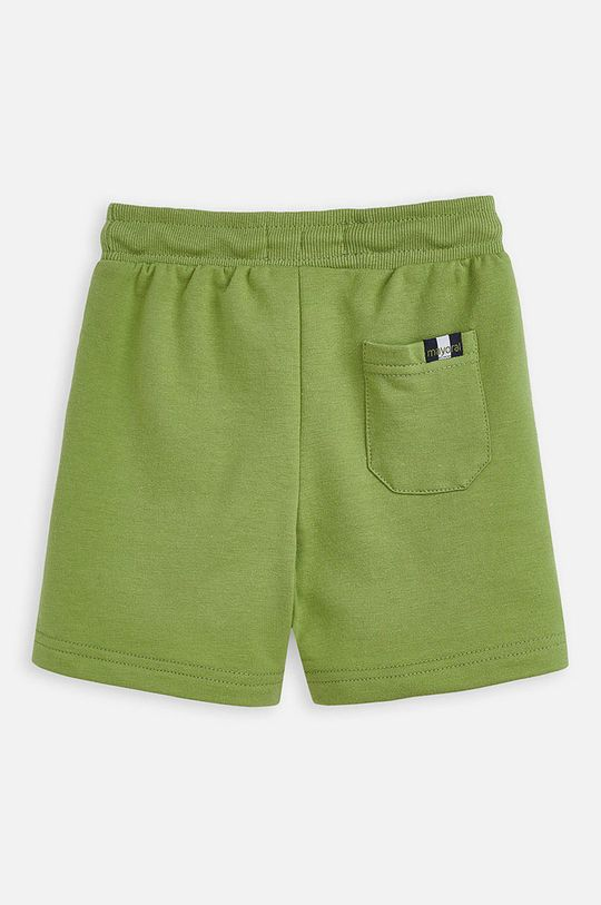 Mayoral - Detské krátke nohavice 92-134 cm hnedo zelená