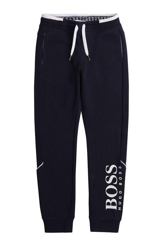 námořnická modř Boss - Dětské kalhoty 116-152 cm Chlapecký