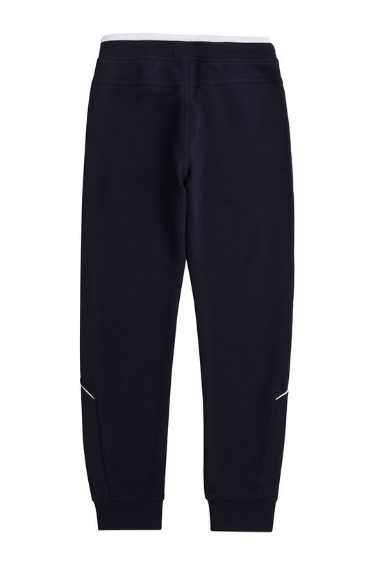 Boss - Dětské kalhoty 116-152 cm námořnická modř