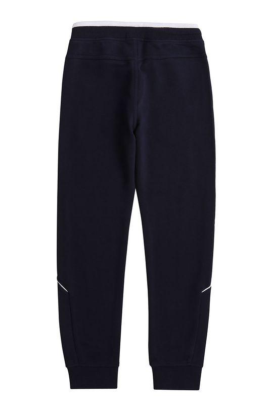 Boss - Dětské kalhoty 164-176 cm námořnická modř