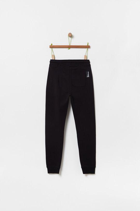 OVS - Detské nohavice 146-170 cm čierna