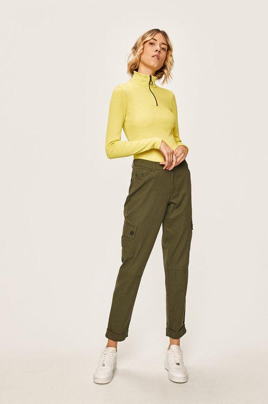 Jacqueline de Yong - Kalhoty zelená