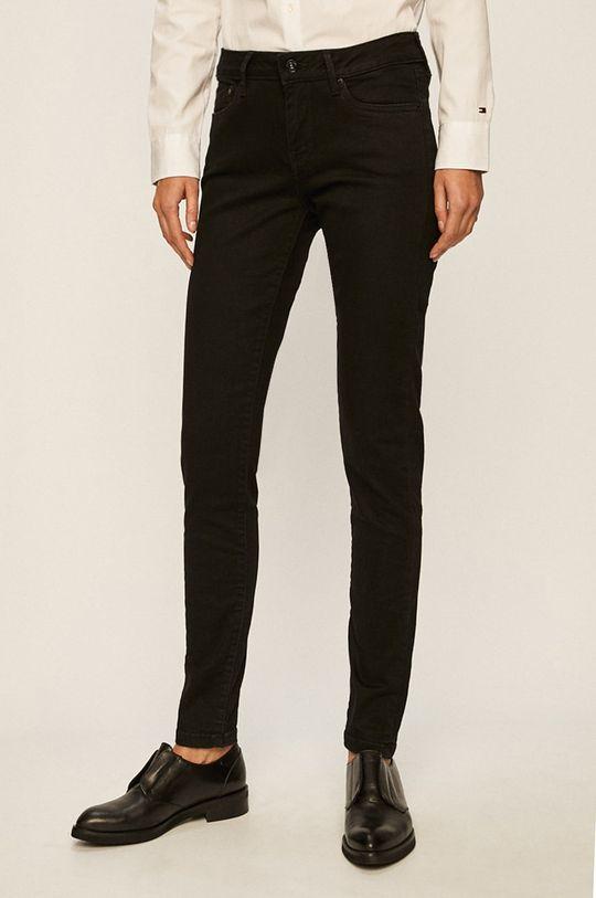 černá Pepe Jeans - Kalhoty Pixie Dámský