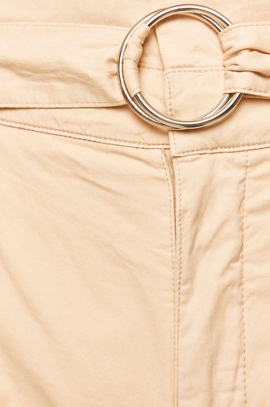kremowy Guess Jeans - Spodnie