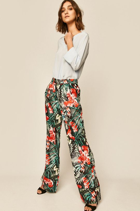 Guess Jeans - Nohavice viacfarebná