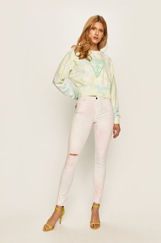 Guess Jeans - Džíny 1981 růžová