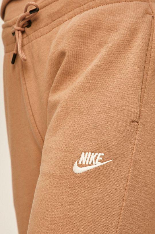 kávová Nike Sportswear - Kalhoty