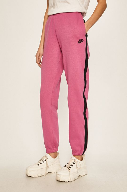 fuchsiová Nike Sportswear - Kalhoty Dámský