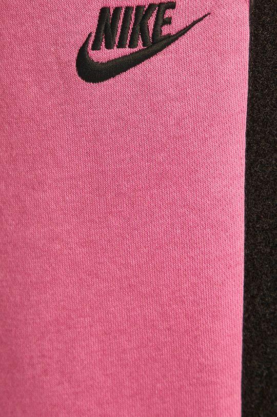 fuchsiová Nike Sportswear - Kalhoty