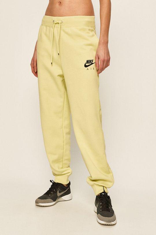 světle zelená Nike - Kalhoty Dámský