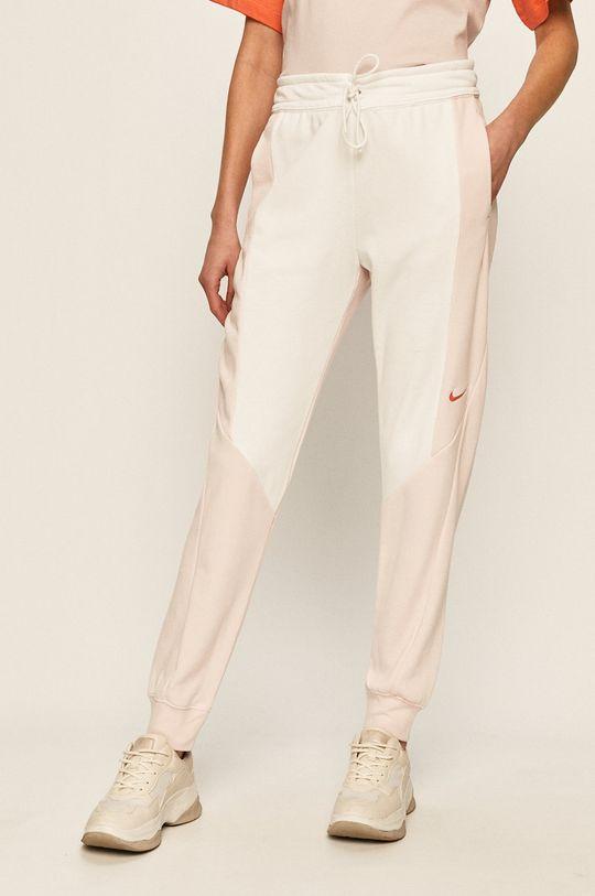 bílá Nike Sportswear - Kalhoty Dámský