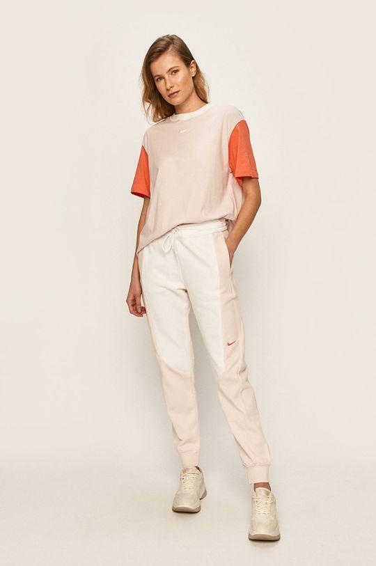 Nike Sportswear - Kalhoty bílá