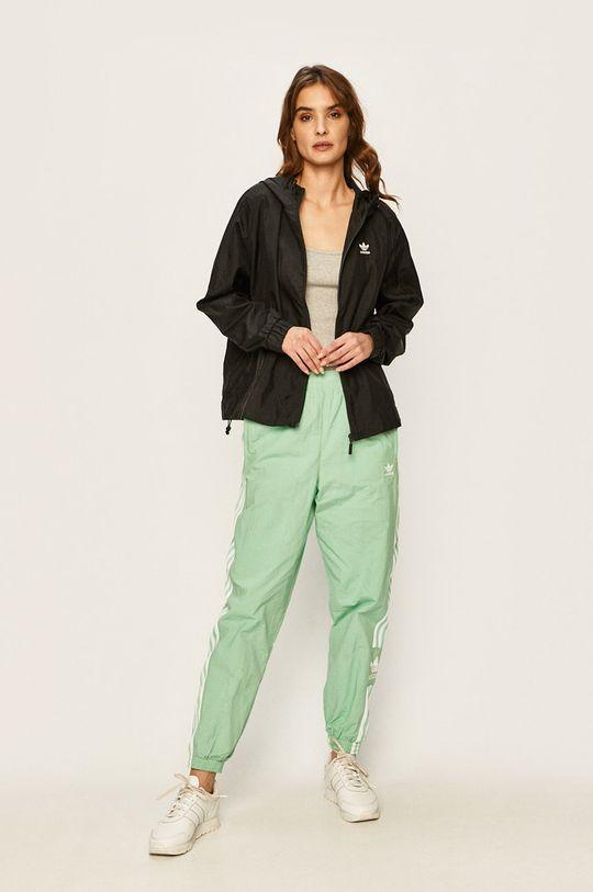 adidas Originals - Kalhoty mátová