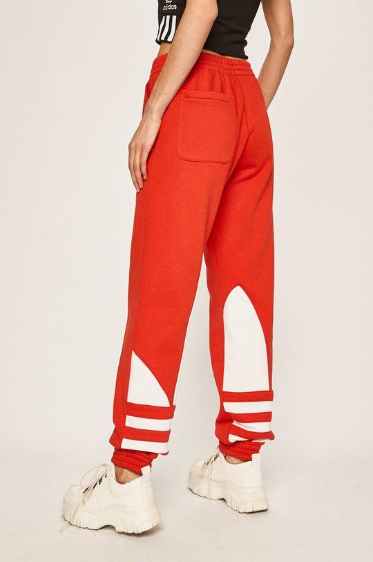 červená adidas Originals - Kalhoty Dámský