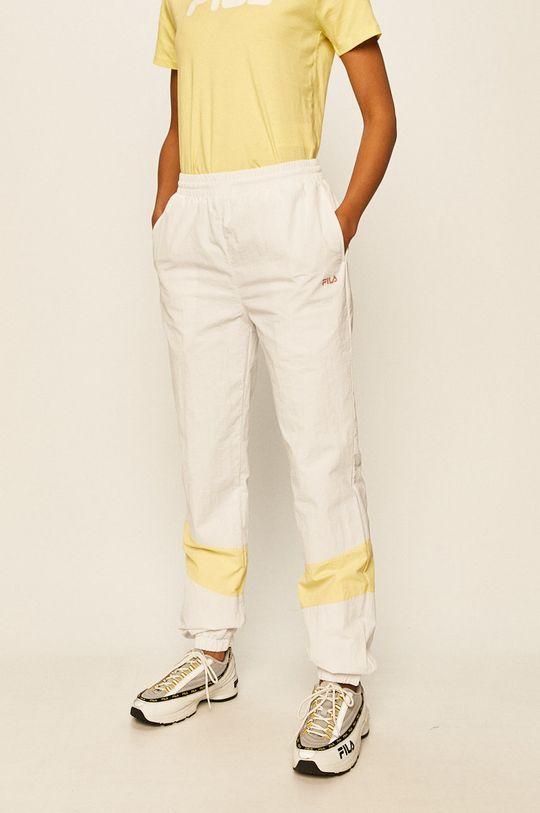 biały Fila - Spodnie Damski