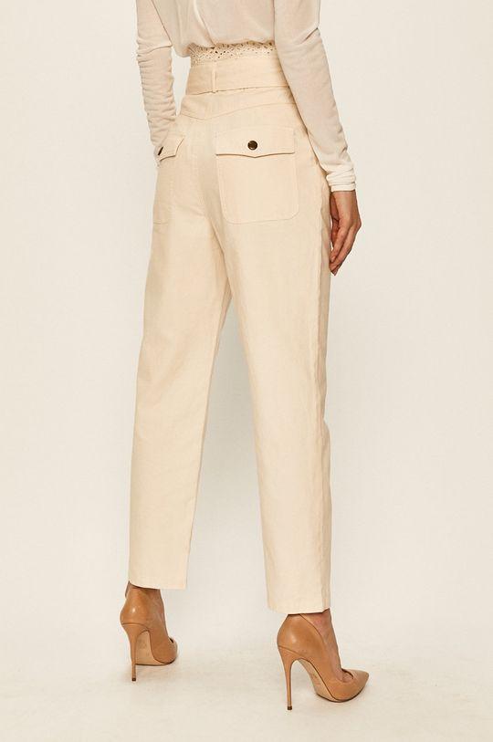 Twinset - Pantaloni Captuseala: 100% Bumbac Materialul de baza: 100% Bumbac broderie: 100% Poliester