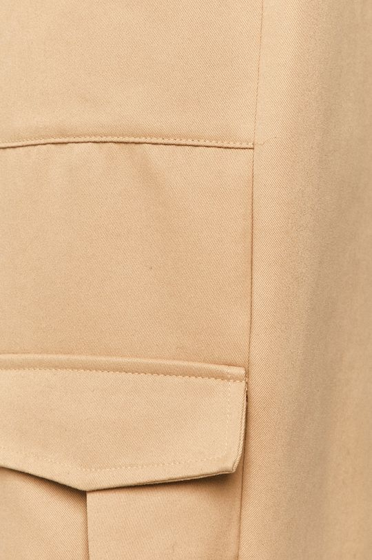 piaskowy Vero Moda - Spodnie