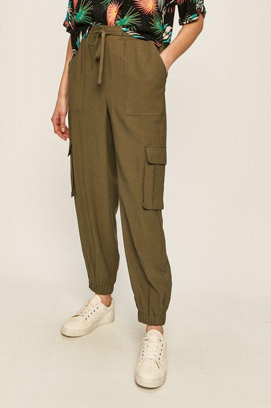 зелен Only - Панталони Жіночий