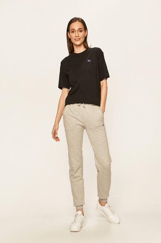 Russell Athletic - Kalhoty světle šedá