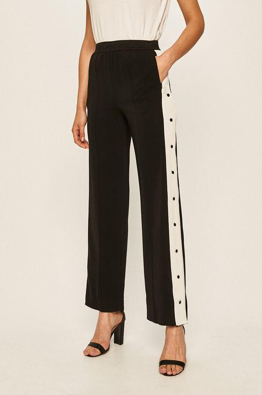 černá Karl Lagerfeld - Kalhoty Dámský